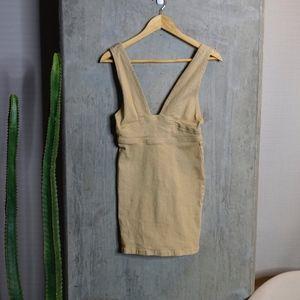 MINK PINK DENIM DRESS